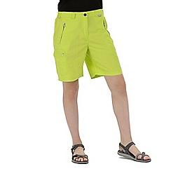 Regatta - Green 'Chaska' lightweight shorts