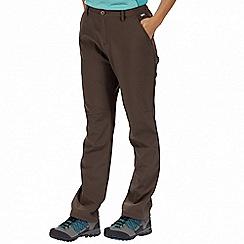 Regatta - Brown Fenton trousers