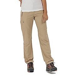 Regatta - Brown 'Chaska' regular length trousers