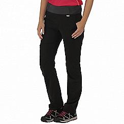 Regatta - Black Sarine stretch trousers