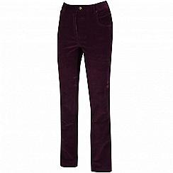 Regatta - Purple 'Dariela' trouser