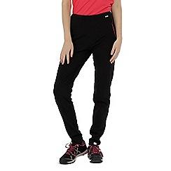 Regatta - Black 'Pentre' stretch trouser longer length