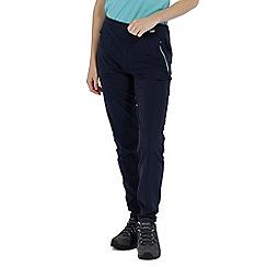 Regatta - Blue 'Pentre' stretch trouser shorter length