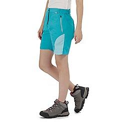 Regatta - Blue 'Sungari' technical shorts