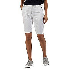 Regatta - White 'Sophillia' cotton shorts