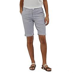 Regatta - Grey 'Sophillia' cotton shorts
