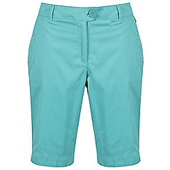 Regatta - Blue 'Sophillia' cotton shorts