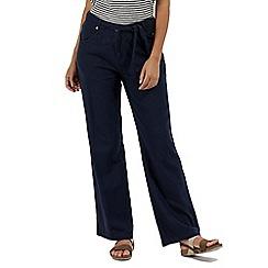 Regatta - Blue 'Quinetta' cotton trousers