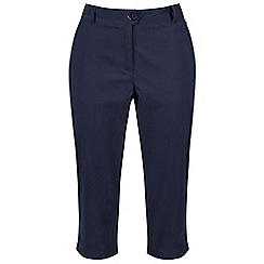 Regatta - Blue 'Maleena' Capri trousers