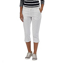 Regatta - White 'Maleena' capri trousers
