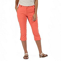 Regatta - Orange'Maleena' capri trousers
