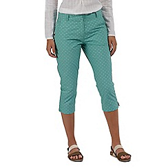 Regatta - Green 'Maleena' capri trousers