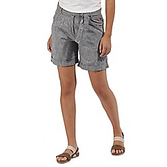 Regatta - Grey 'Samarah' cotton shorts