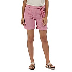 Regatta - Pink 'Samarah' cotton shorts