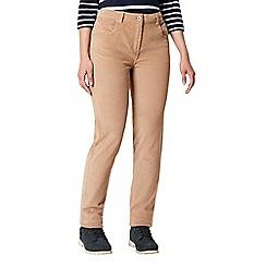 Regatta - Brown 'Darika' cotton trousers