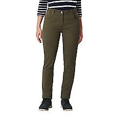 Regatta - Green 'Darika' cotton trousers