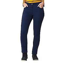 Regatta - Blue 'Darika' cotton trousers