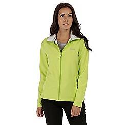 Regatta - Green 'Connie' softshell jacket