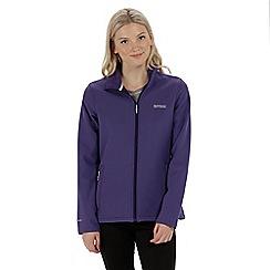 Regatta - Purple 'Connie' softshell jacket