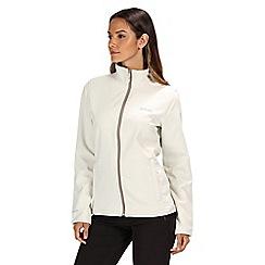 Regatta - Polar white connie softshell jacket