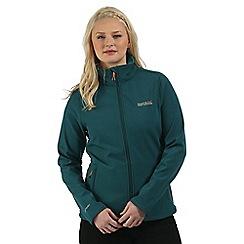 Regatta - Teal Connie softshell jacket