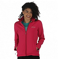 Regatta - Pink Connie soft shell jacket