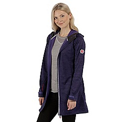 Regatta - Purple 'Lily wood' softshell jacket