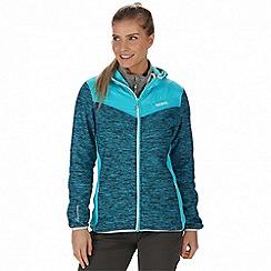 Regatta - Blue 'Harra' hybrid softshell jacket