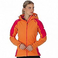 Regatta - Orange 'Desoto' softshell jacket