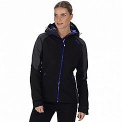 Regatta - Black 'Desoto' softshell jacket