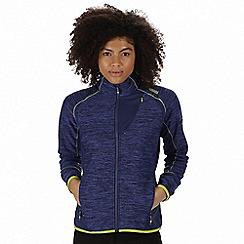 Regatta - Blue 'Catley' hybrid softshell jacket