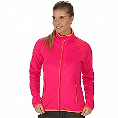 Regatta - Pink 'Abney' softshell jacket