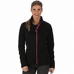 Regatta - Black 'Estell' hybrid softshell jacket