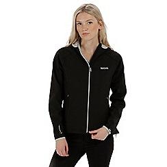 Regatta - Black 'Arec' softshell jacket