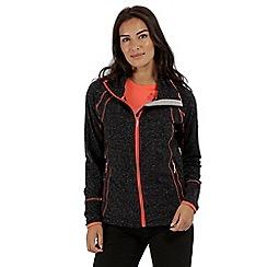 Regatta - Black 'Harty' softshell jacket