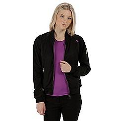 Regatta - Black 'Pura' softshell jacket