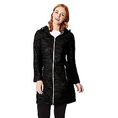 Regatta - Black 'Alinta' hooded jacket