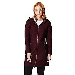 Regatta - Maroon 'Alinta' hooded jacket