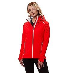 Regatta - Red 'Desoto' lightweight hooded jacket