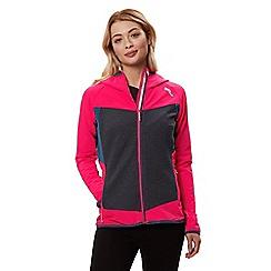 Regatta - Pink 'Carpo' hybrid hooded jacket