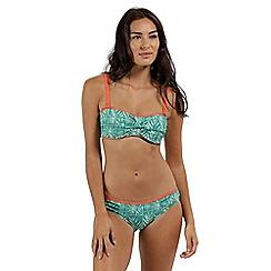 Regatta - Green 'Aceana' bikini briefs