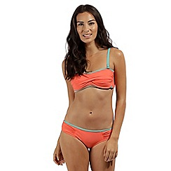 Regatta - peach 'Aceana' bikini briefs