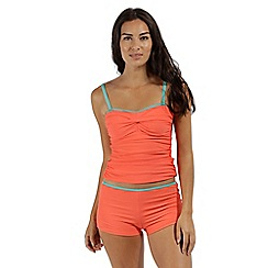 Regatta - peach 'Aceana' bikini shorts
