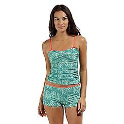 Regatta - Green 'Aceana' bikini shorts