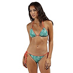 Regatta - Green 'Aceana' bikini string top