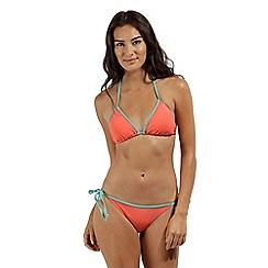 Regatta - peach 'Aceana' bikini string top