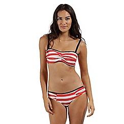 Regatta - Pink 'Aceana' bikini bandeau top