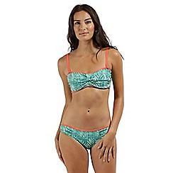 Regatta - Green 'Aceana' bikini bandeau top