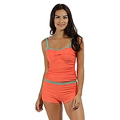 Regatta - peach 'Aceana' swim tankini