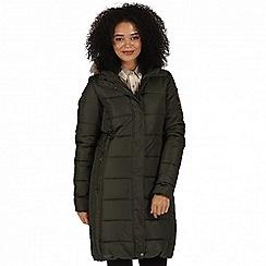 Regatta - Green 'Fermina' parka jacket